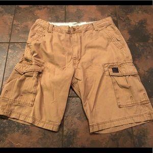 Levi cargo shorts size 36